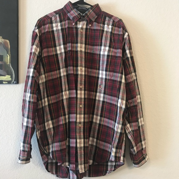 e27a829a Tommy Hilfiger Shirts | Vintage Mens Long Sleeve Shirt | Poshmark